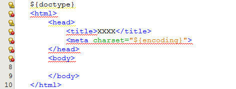 netbeans-html-modifier-template