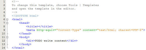 netbeans-html-template