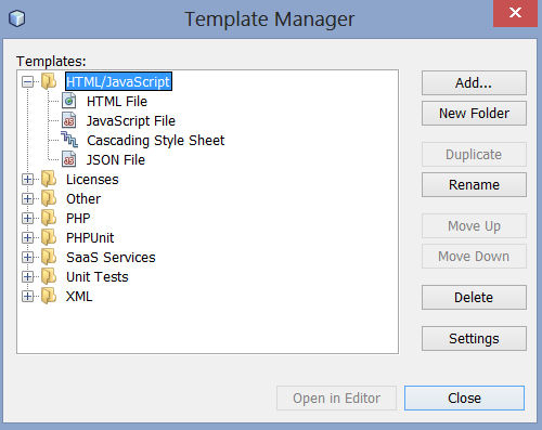 netbeans-tools-template
